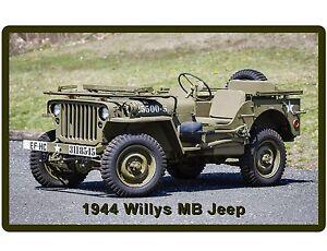 1944 Willys Jeep Us Army Wwii Auto Refrigerator Tool Box Magnet Ebay