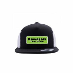 e90194cfc39a6 Image is loading Factory-Effex-Licensed-Kawasaki-Team-Green-Snapback-Hat-
