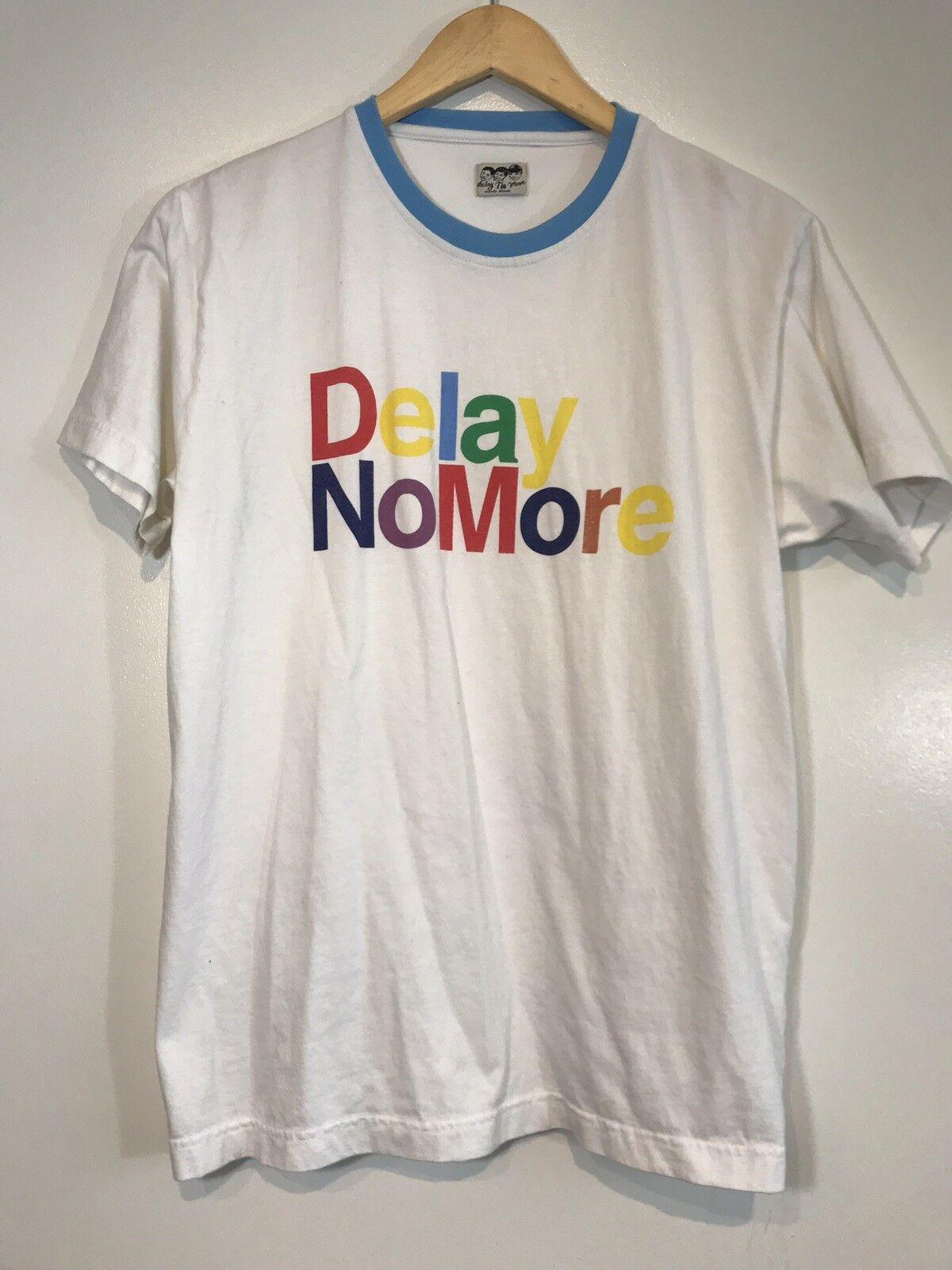 Delay No More Hong Kong Shirt Ringer Fits Like L XL See Measurements