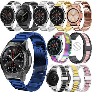 Stainless-Steel-Metal-Watch-Band-For-Samsung-Galaxy-Watch-Active-42-46mm-Gear-S3