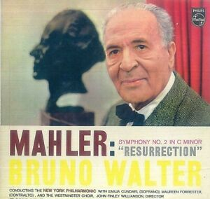 "Mahler - Bruno Walter conducting The New York Philharmonic* – Symphonie No. 2 ""R"