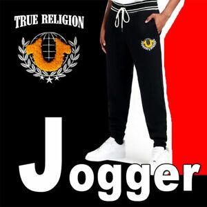 """True Religion Classic Joggers """"1888"""" Gold Pants Camo Sweatpants S M XL 2XL 3XL"""