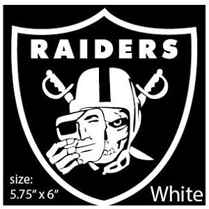 car decal oakland raiders nation skull face decal 6 ebay rh ebay com raiders skull logo hd raiders skull logo wallpaper