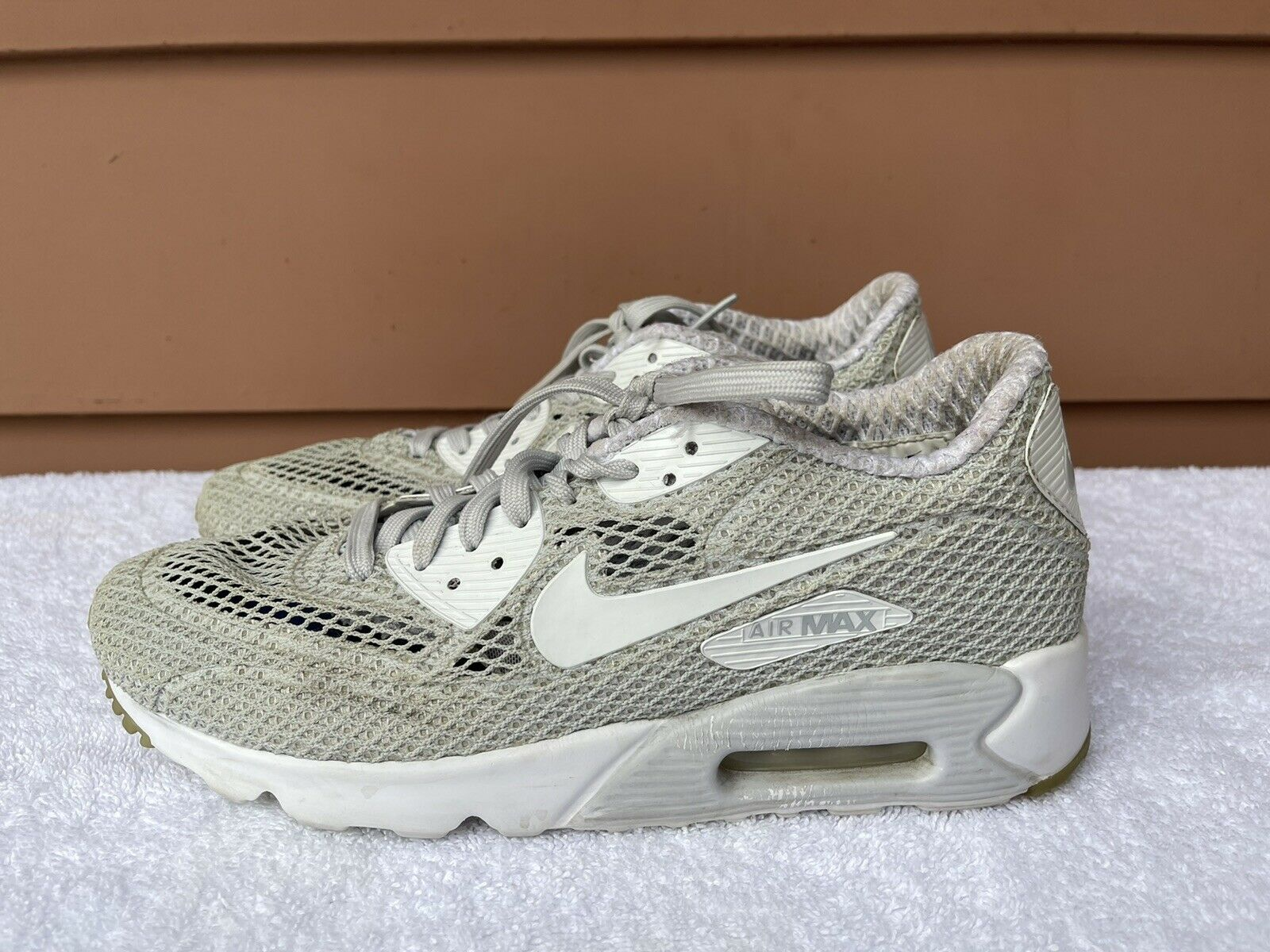 Size 9 - Nike Air Max 90 Ultra BR Plus QS White for sale online | eBay