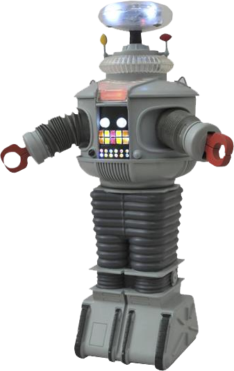 8 -10  Figures--Lost in Space - B-9 Electronic Robot