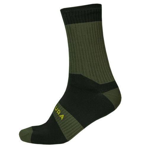 Forest Green All Sizes Endura Hummvee Ii Waterproof Mens Socks Mtb