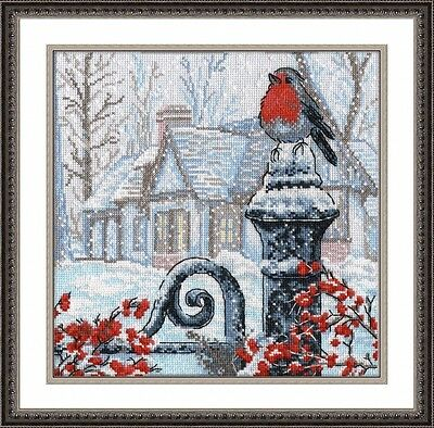 Counted Cross Stitch Kit OVEN - CHRISTMAS MORNING