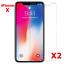 2-Vitre-Protection-film-protecteur-ecran-Verre-Trempe-Glass-iPhone-8-7-6-5-SE-X