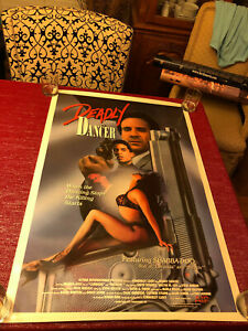 Deadly-Dancer-amp-Robo-Chic-Double-Sided-Movie-Poster-One-Sheet-Not-Folded-27x40