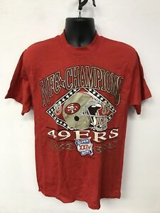 Vintage San Francisco 49ers NFC Champions Logo 7 1989 T Shirt New ... 7c4a274e3