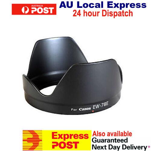 EW-78E Lens Hood for CANON 7D EF-S 15-85mm f/3.5-5.6 IS USM OZ Seller Brand New