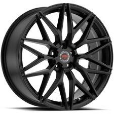 4 Revolution R18 17x75 5x45 40mm Satin Black Wheels Rims 17 Inch Fits 2011 Toyota Camry