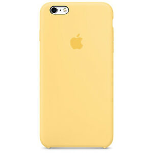 100% authentic 08a04 0cd0f Apple iPhone 6s Plus Silicone Case - Yellow