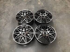 20-034-666M-M3-M4-Competition-Style-Wheels-Gun-Metal-Machined-BMW-E90-E91-E92-E93