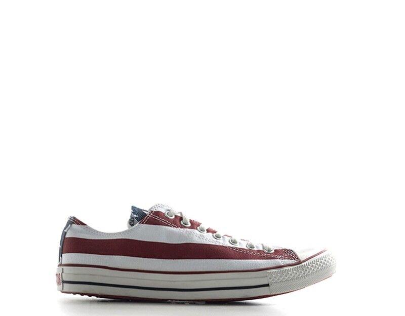 Schuhe CONVERSE Mann BIANCO rot Stoff M3494 U    | Ideales Geschenk für alle Gelegenheiten