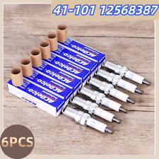 MOTOKU 6Pcs Iridium Spark Plugs for 41-101 12568387