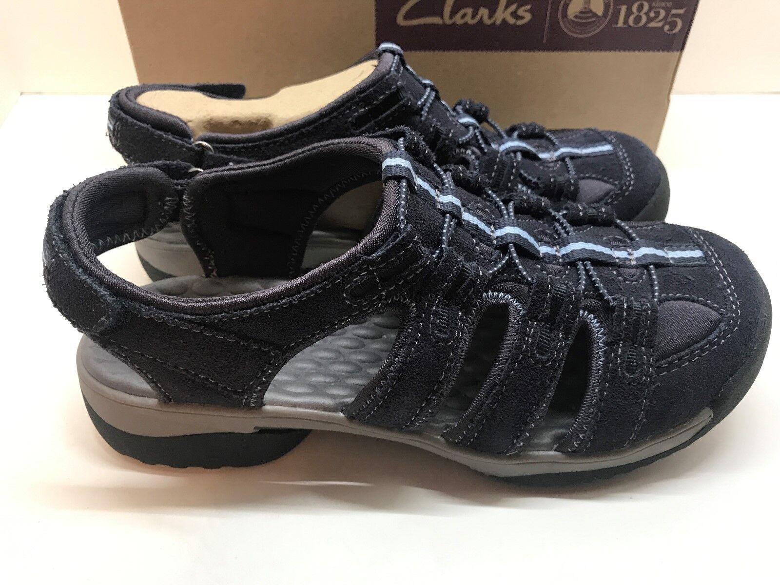 Senza tasse Clarks Donna's Vapor Mist Navy Navy Navy blu Comfortable Sandals Dimensione 6   New  economico