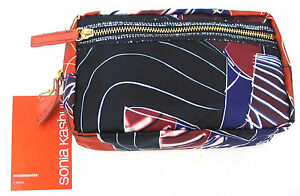 b39b8c5b9dc2 Image is loading Sonia-Kashuk-The-Overnighter-Cosmetic-Bag-Artwork -Collection-