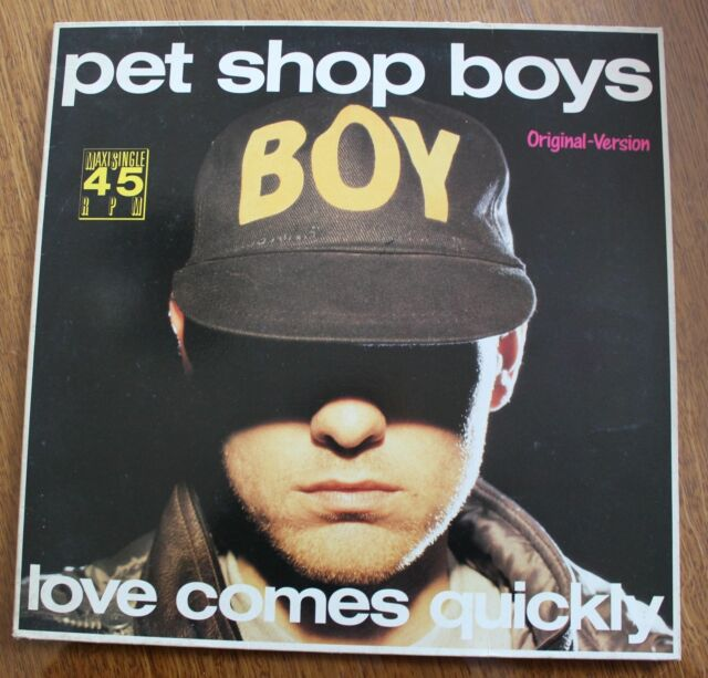 Pet Shop Boys, love comes quickly , Maxi vinyl