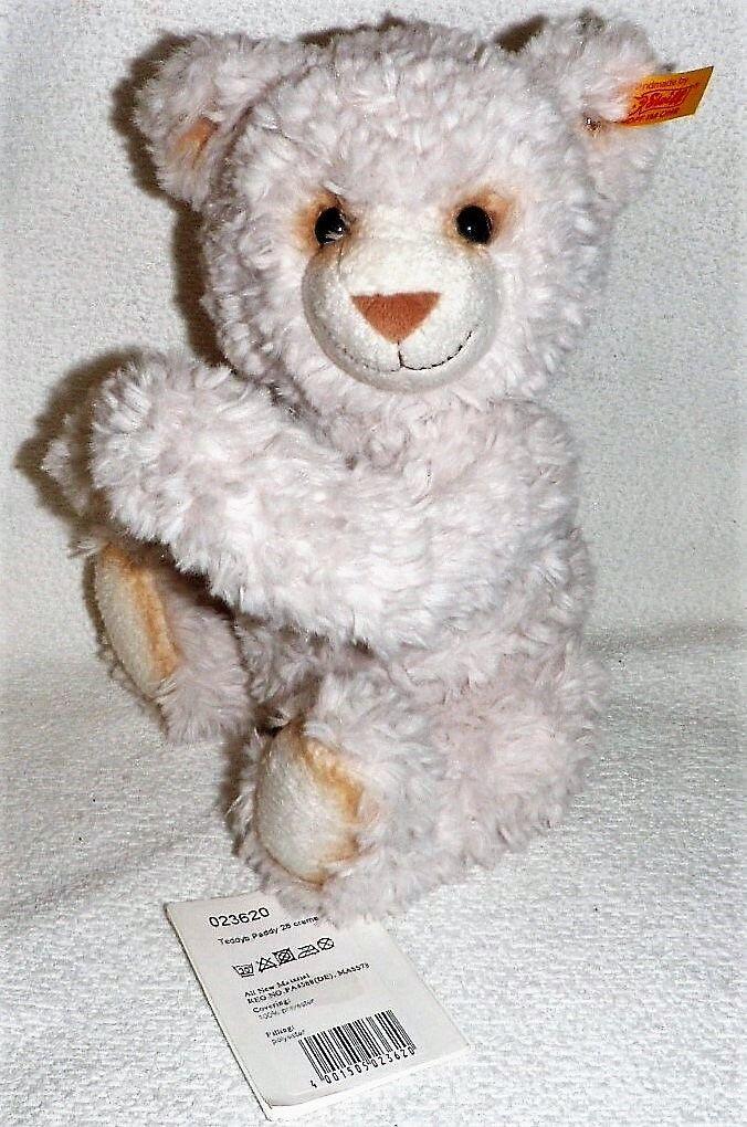 Steiff 023620 Paddy Teddybär 28 cm creme Kuscheltier Kuscheltier Kuscheltier Spielzeug 00fa99