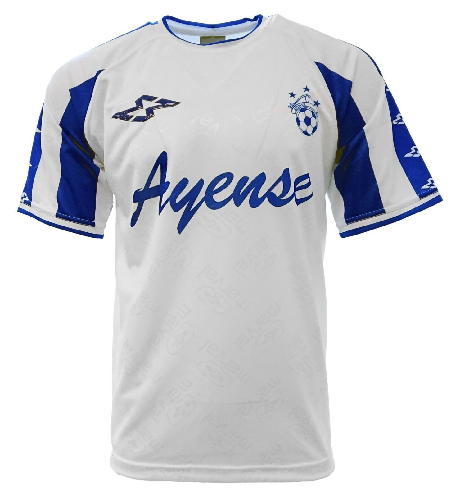 Ayense Adult Men Soccer Jersey White  by Marval