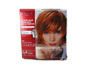L-Oreal-Couleur-Experte-Express-Ginger-Twist-6-4-New-Open-Box-Hair-Color-Open