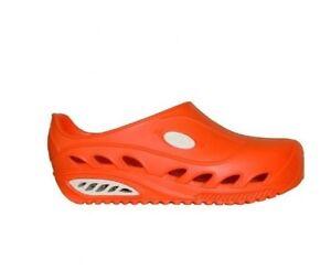 Womens-Medical-Footwear-Oxypas-AWP-Orange-Clogs-UK-6-EU-40-LN16-24