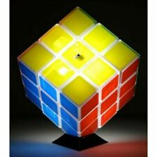 Rubiks Cube Puzzle Glow Night Desk Lamp Night Lamp USB Rechargeable Brand New