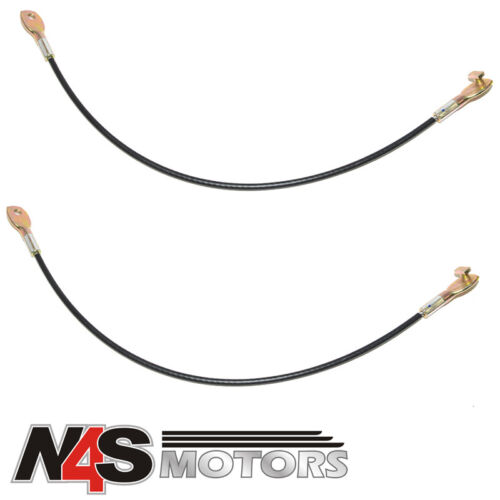 LAND ROVER DEFENDER 90//110//130 REAR TAILGATE RETENTION CABLE 2 X PART BYC500070