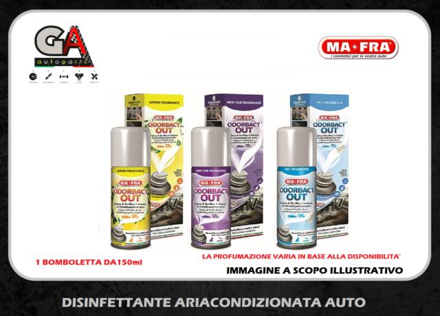 Odorbact Out purificatore abitacolo auto elimina il cattivo odore 150 ml MaFra