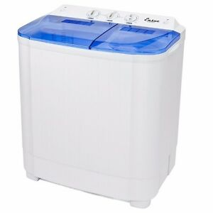 Portable Washer Machines Compact 8 - 9LB Washing Spin Dryer ...