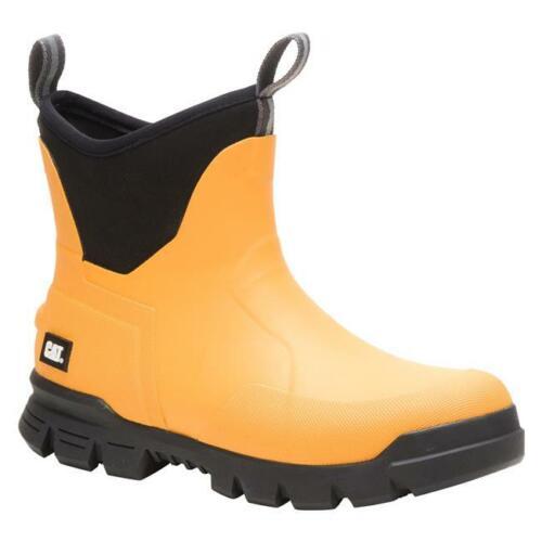 """Cat Footwear Mens 6/"""" Stormers Steel toe Waterproof Boots EH slip oil resistant"""