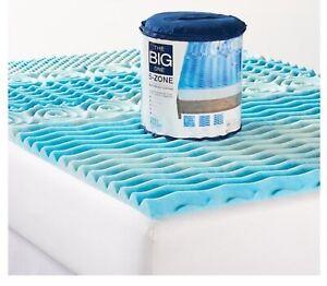 The Big One New Gel Memory Foam Mattress Topper King Size Ebay