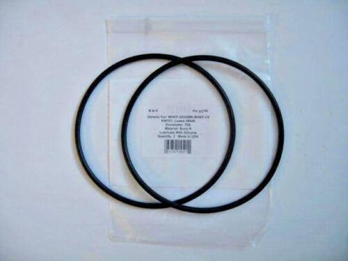 KW101 WHKF-C9 Lowes 58648 R/&S#357W  // Buna n 2 O-rings For WHKF-GD25BB