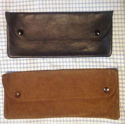 Sottobraccio Under-arm Portadocumenti Pelle Scamosciato Vintage Prestazioni Affidabili