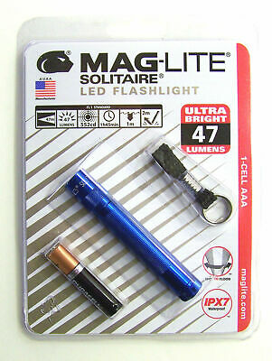 Maglite Solitaire PINK  key ring size TORCH  NEW FREE UNITED KINGDOM SHIPPING...