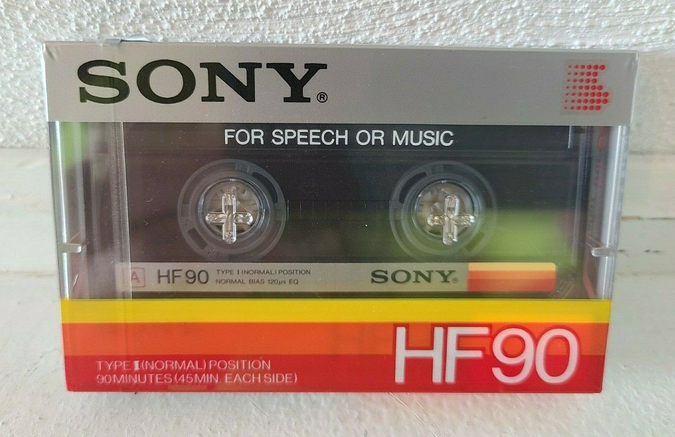 10 Kassetten Sony HF 90 Leerkassetten
