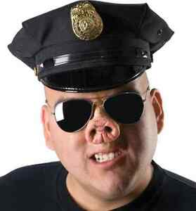 image is loading pig nose cop farm animal fancy dress halloween
