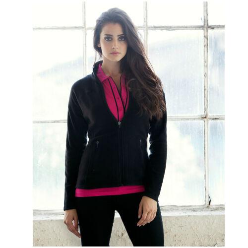 20 senza PnP Donna Full Zip Micro Pile Vestibilità Giacca 6