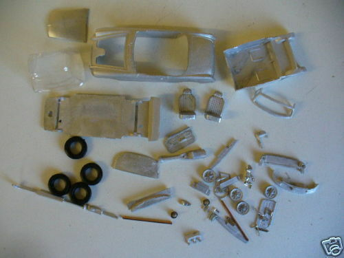 MGB Roadster Rubber Bumper   1 43rd scale white metal kit  by K & R Replicas