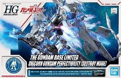 Hg 1 144 Gundam Basis Limitiert Unicorn Perfectibility Destroymode Set Japan