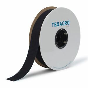 Sew In Fastenings Black or White VELCRO® Brand 20mm Wide Hook and Loop Tape