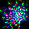 1X3W E27 RGB Crystal Ball Rotating LED Stage Light Bulb for Club DJ Disco Party
