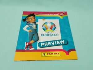 Panini-Euro-Em-2020-Preview-Sticker-Album-de-scrapbooking-album-Leeralbum