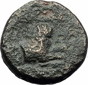LYSIMACHOS-306BC-Thrace-King-Authentic-Ancient-Greek-Coin-ATHENA-amp-LION-i63103