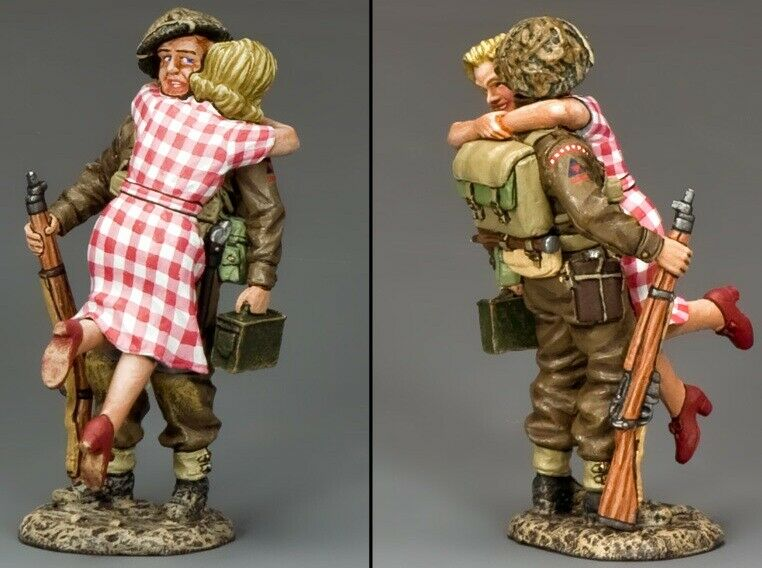 KING & COUNTRY D DAY DD175 BRITISH SOLDIER LIBERATION MIB