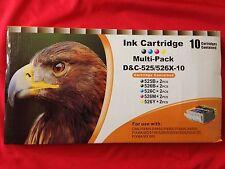 10 D&C Druckerpatronen IP4850 MG5150 MG5250 MG6150 MX885 IX6550 TINTE PATRONE