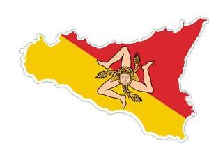 Adesivi-adesivo-moto-auto-sticker-bandiera-vinyl-decal-mappa-siciliana-sicilia