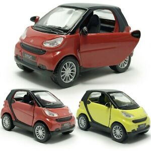 1-36-Scale-Smart-Model-Car-Diecast-Toy-Vehicle-Pull-Back-Doors-Open-Kids-Gift