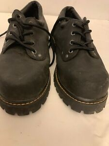 GBX Safety Steel Toed Men's Work Shoes